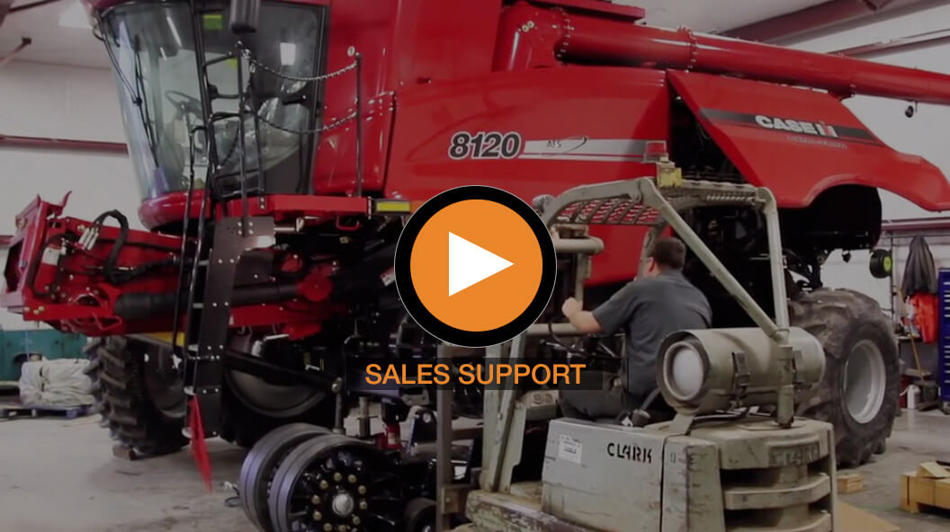 Monroe Tractor's Sales Support Video