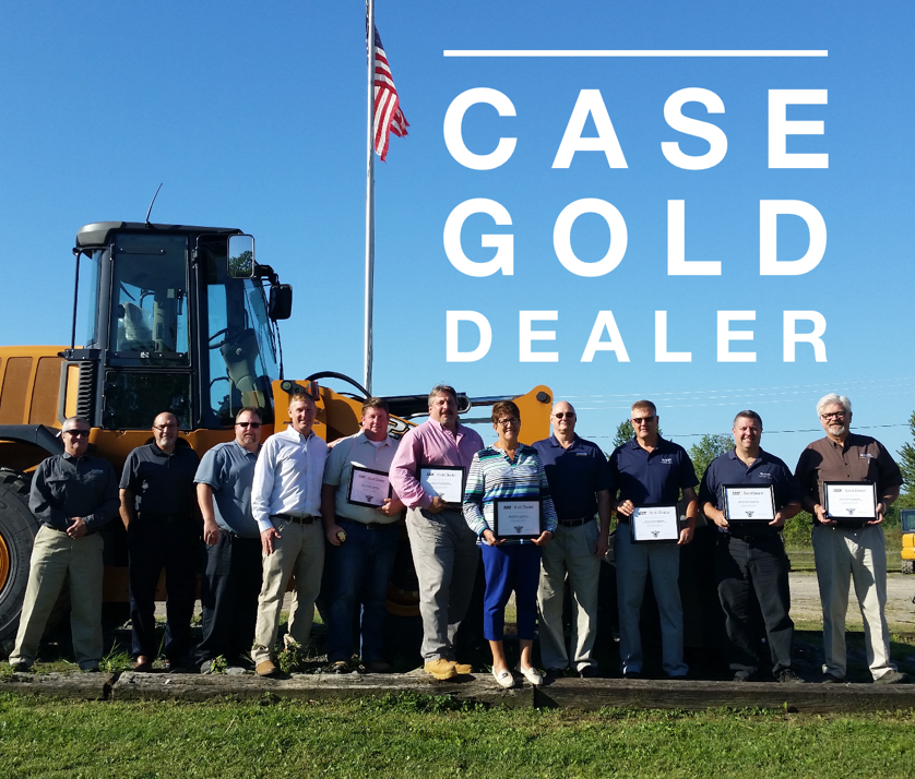 Case Gold Dealer Award