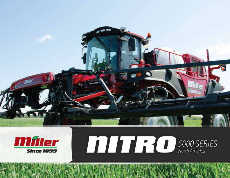 Miller Sprayer nitro 5000