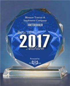 2017 Best of Auburn Award