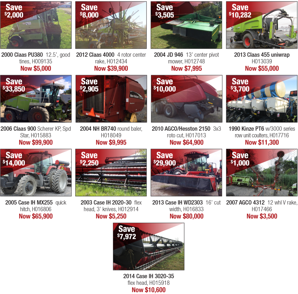 Big savings you don't want to miss! | Agriculture