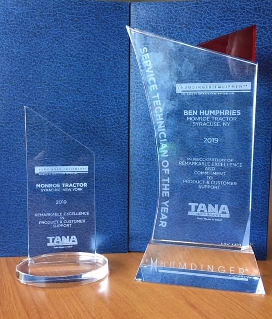 Humdinger Award