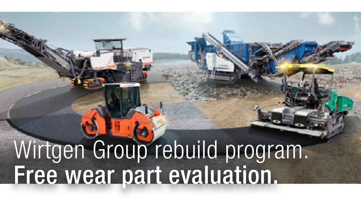 Wirtgen Group Rebuild Program