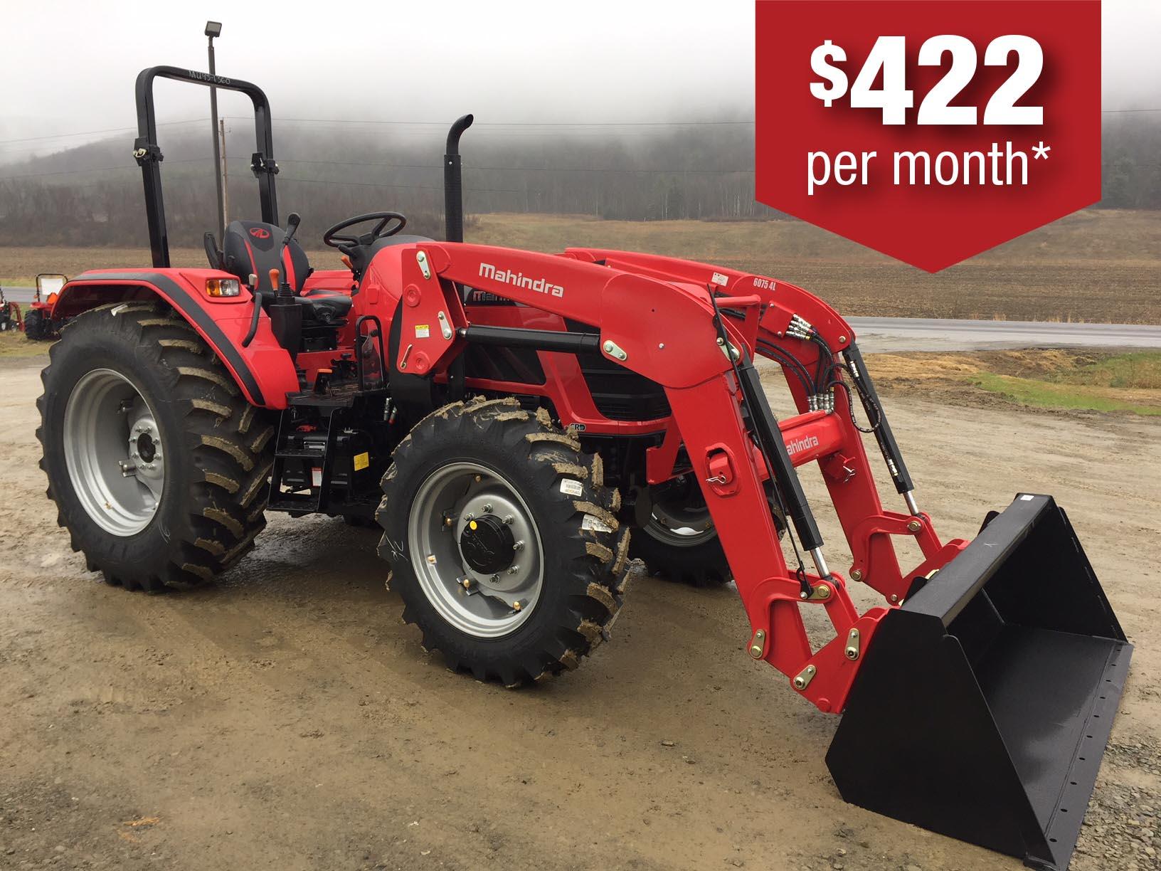 Mahindra 6065 tractor